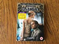 The Great Gatsby DVD NEW Sealed Leonardo DiCaprio Carey Mulligan Tobey Maguire Joel Edgerton