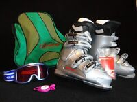 Ladies Nordica ExoPower Trend ski boots, size 3 to 4, new condition