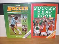TWO SOCCER YEAR BOOKS - 1985 & 1986 - BOTH IN EXCELLENT CONDITION BOTH 192 PAGES