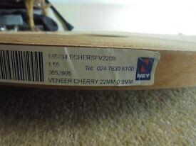 NEY Real Wood Cherry Veneer Edging Roll 20mm x 09 x 155m