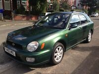 Rare Subaru Impreza 1.6 TS Sport Green Awd Option+Electric Towbar+12Months MOT+2xKeys for £795 Cat C