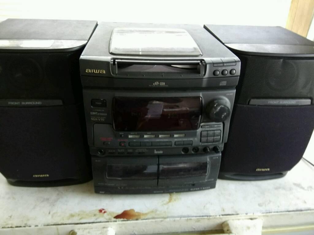 Midi hi-fi system