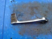 HONDA VFR 400 VFR400 NC21 NC24 STEEL REAR BRAKE PEDAL