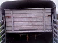 complete set sheep decks for 10 x 6 ifor williams cattle trailer, v.good condition