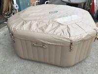 Intex octagonal deluxe spa hot tub lay z spa