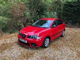 SEAT IBIZA REFERENCE 12V ONLY 19k FSH (red) 2007