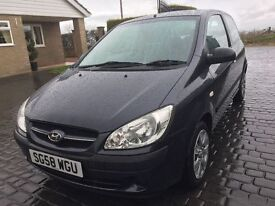 \\\ 58 REG HYUNDAI GETZ 1.1 GSI \\\ EXCELLENT CONDITION \\\ ONLY £1299