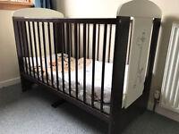 Baby Cot + Foam Matress + Bedding Set