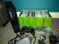 Xbox 360 E 250gb plus 23 games xbox bundle
