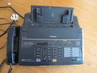 Panasonic Fax Machine. Working order.