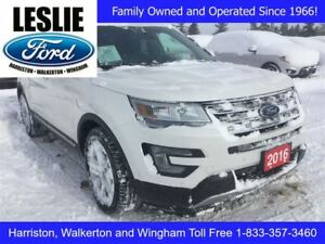 2016 Ford Explorer Limited | 4X4 | Winter Tires and Rims