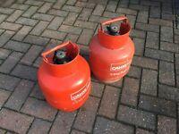 Calor gas 3.9kg propane gas bottles - full