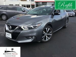 2017 Nissan Maxima SV-Push start-Blind spot-Sunroof