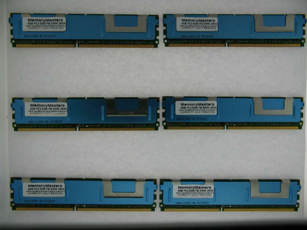 PC2-5300 ECC FB-DIMM SERVER for Dell PowerEdge 1950 NOT FOR PC 32GB 8x4GB