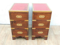 Hardwood chests x 2 (Delivery)