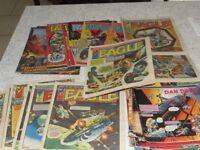 45 Eagle comics 1982-1984