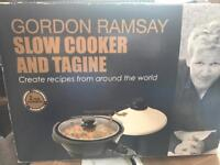 Gordon Ramsay Slow cooker and tagine used