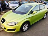 REDUCED SEAT LEON 1.9 tdi 2009 ecomotive 4 door full mot green credit cards accepted px welcome