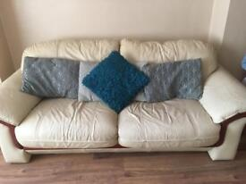 3 seater n 2 single chairs