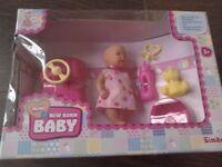 Mini Newborn Baby Brand New Box Toy Doll and accessories