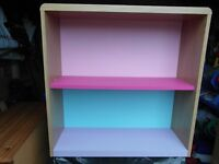 Next Directory Children's Bookcase / Shelved unit and bedside drawers