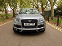 Audi Q7 3.0 TDI S Line Tiptronic Quattro 5dr   Hpi Clear   7 Seater   1 Owner   Full Histy   X5 Audi