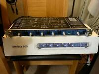 RME Fireface 800 - 56 Channel Firewire Professional Audio Interface