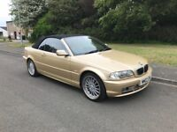 Bmw 330ci convertible **FSH** only 90k miles