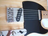 Hondo Deluxe series 757 electric guitar -Japan - '80s - Fender Telecaster homage