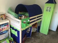 Childrens Midsleeper Bed