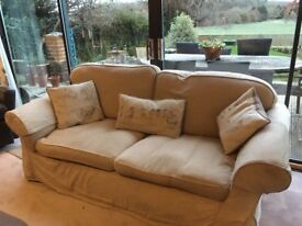 Free sofa with optional donation to charity