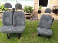 Ford Transit driver seat passengers seat