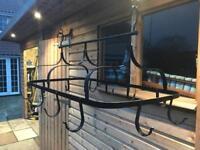 Pan hanging rack