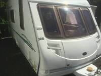 Eccles sterling 4 berth 2006 with motor mover touring caravan