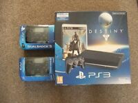 PS3 500gb console, 2 x dualshock controllers, 11 x games
