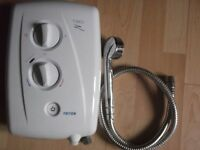 TRITON T-80-Z electrical showers capacity from 8 - 8.5 Kw in Excellent working order. £55.00