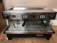 2 group coffee machine magister