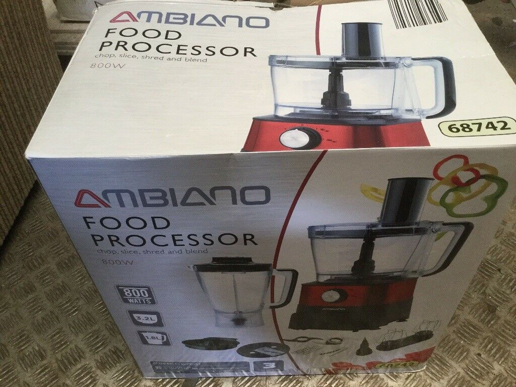 Ambiano food processor 800w still in box | in Kirkintilloch, Glasgow |  Gumtree