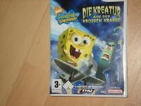 Wii-Spiel-Spongebob Schwammkopf Kreis Pinneberg - Tornesch Vorschau