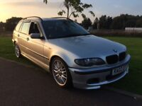 2002 BMW 330d estate diesel factory M SPORT MANUAL CHEAPER PX WELCOME £1395