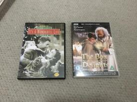 'It's a Wonderful Life' and 'The Box of Delights' DVD's. Perfect for Christmas! £5 total.
