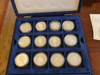 36 925 Silver Coin set- Lady of the century