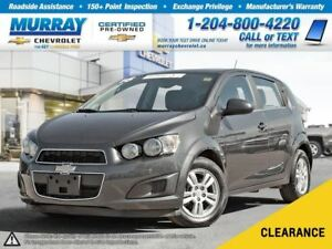 2016 Chevrolet Sonic LT Auto *Heated Seats, Satellite Radio, OnS