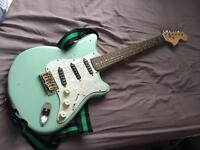 Road Worn Squire Modified Stratocaster Electric Guitar (Misc parts)