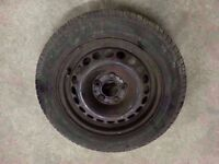 """2007-2011 MERCEDES A CLASS A150 W169 15"""" STEEL WHEEL WITH TYRE 185/65/R15"""