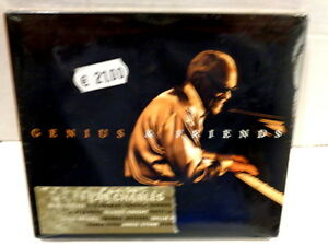 RAY-CHARLES-GENIUS-amp-FRIENDS-CD-2005-DIGIPACK-NUOVO-E-SIGILLATO