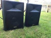 DJ SPEAKERS PA SPEAKERS