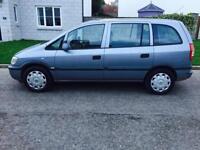2005 Vauxhall ZAFIRA 1.6..7 SEATER ...YEARS MOT.. No Advisory ..Low Miles ..JVC Aux £1195