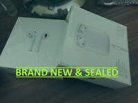 New SEALED Apple Airpods In- Ear Wireless Headphones - White