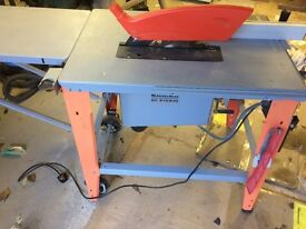 Einhell mobile table circular saw BK 315/230 with powerful 2000 W motor:240v
